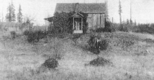 1901 Original shack on Morton's property in Richmond Beach