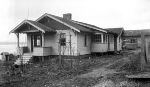 1918 ca Will Kraiger built this house in Richmond Beach just east and south of the Cabin Tavern