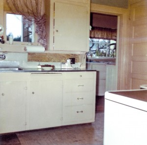1965-10 Kitchen as seen from dining room facing east